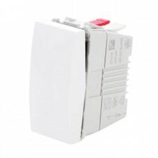 electrice bistrita-nasaud - intrerupator simplu schneider unica, incastrat, modular, alb - schneider - mgu3.101.18