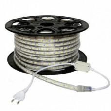 electrice bistrita-nasaud - banda led 220v 60led/m 14.4w/m ip65 r5050 6400k - odosun - od6653