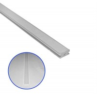 Capac dispersor mat, pentru profil aluminiu 05-30-0510, lungime 1m