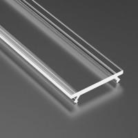 Capac dispersor transparent, pentru profil aluminiu 05-30-550 si 05-30-560, lungime 1m