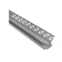 Profil banda LED, unghi inchis, incastrat, 2m